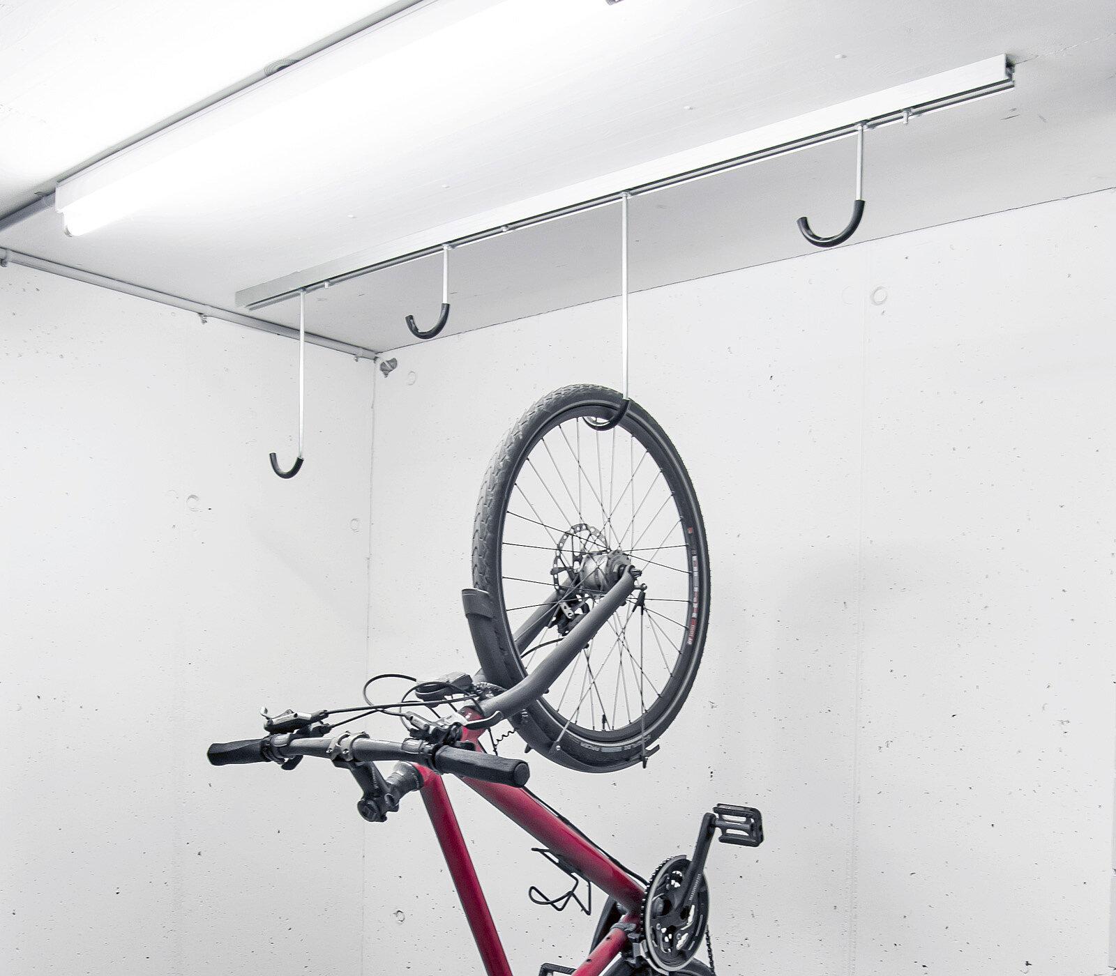Support Velo Au Plafond système de stationnement de vélos | systèmes d'abri et de